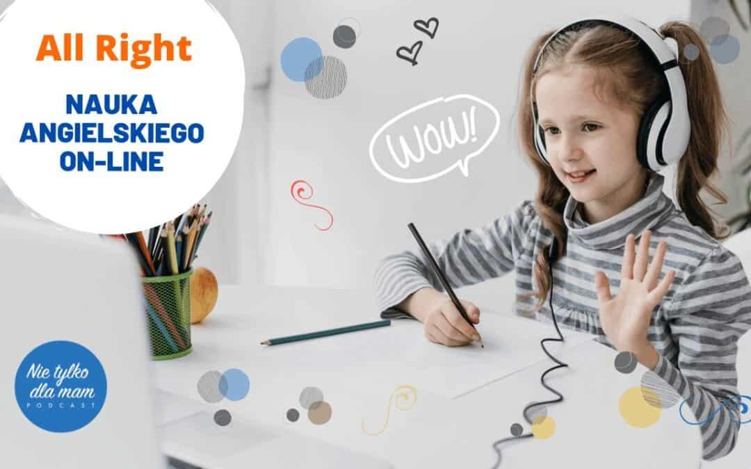 Angielski dla dzieci online. Nauka angielskiego bezwychodzenia zdomu