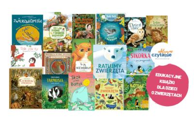 Książki dla dzieci ozwierzętach – edukacyjne ipiękne