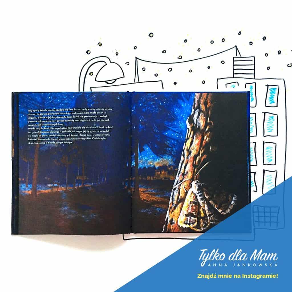 Awaria elektrowni ksiązka dla dzieci recenzja noc ciemność
