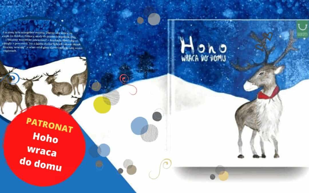 Hoho wraca dodomu ❄️ Ciepła książka zzimową opowieścią