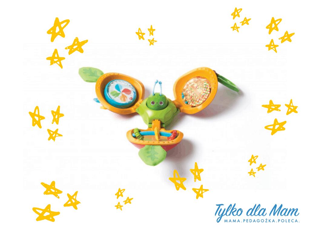 Interaktywne jabłuszko zabawka dla niemowlaka