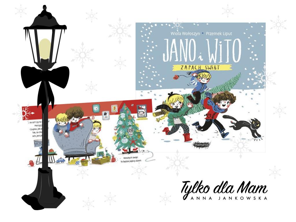 Jano iWito Zapach świąt książki dla dzieci