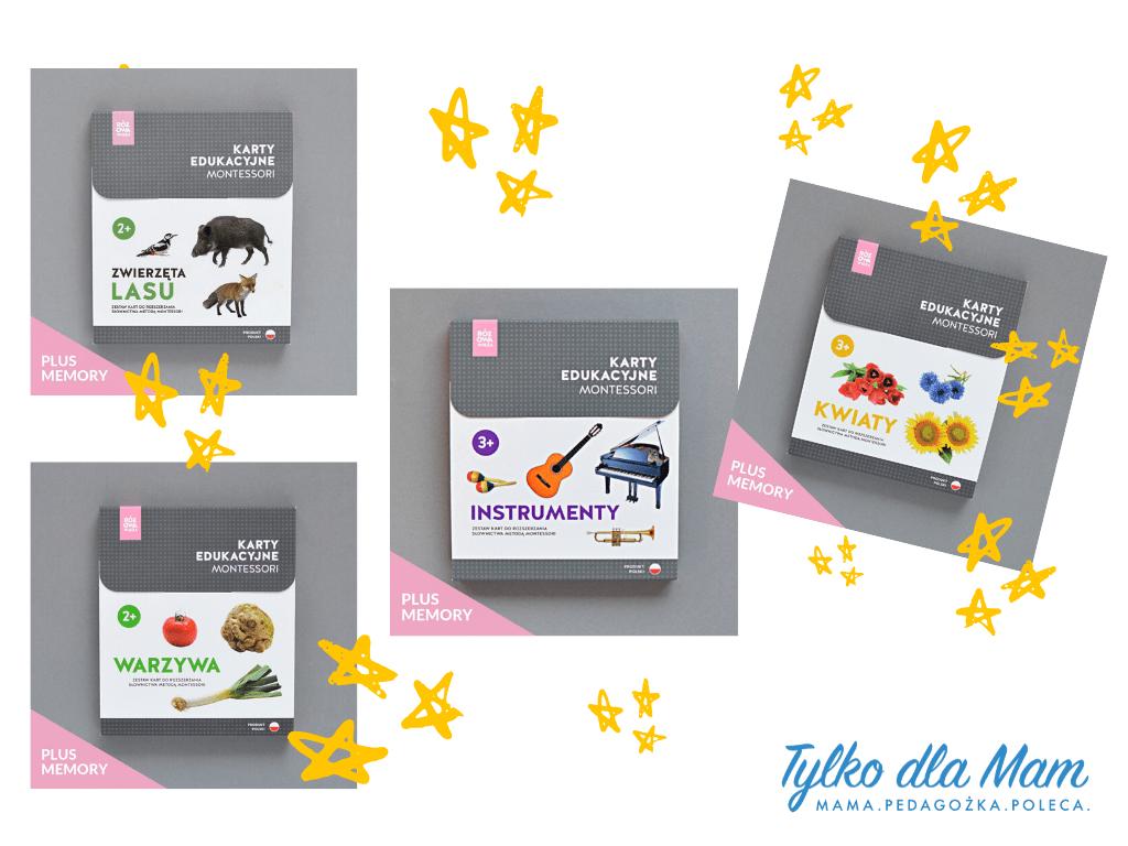 Karty edukacyjne montessori zabawka dla 6 latka