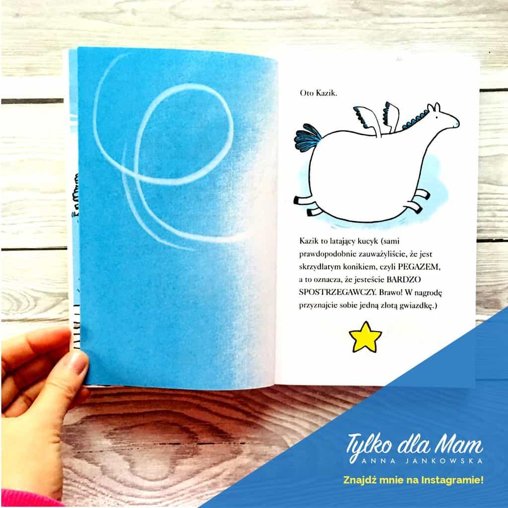 Kazik Pegazik książki dla dzieci recenzja blog