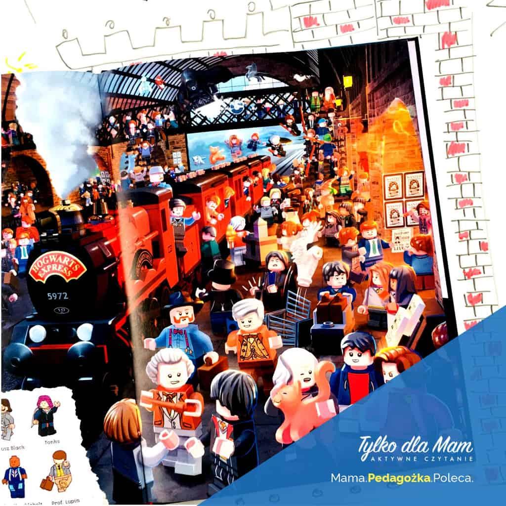 Lego Harry Potter Ksiązki dla dzieci