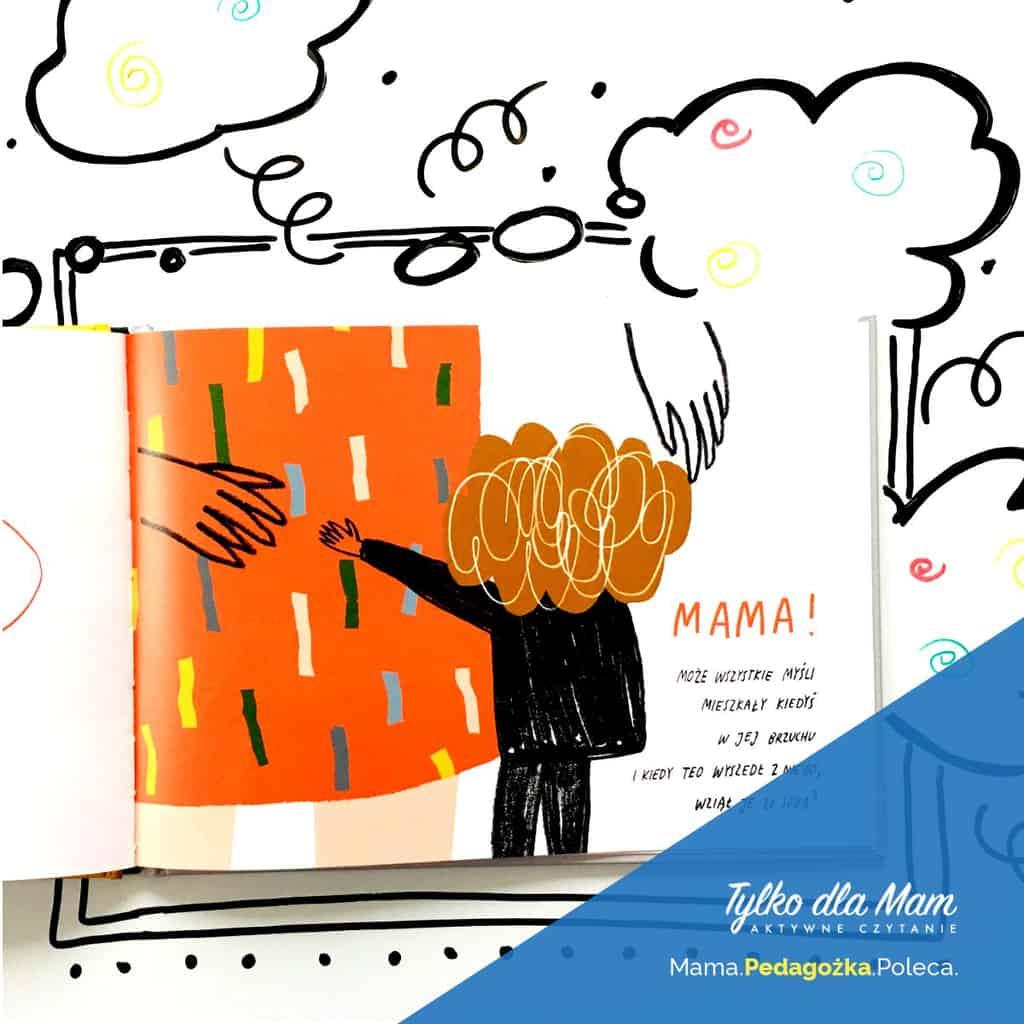 Myśli Teo Agata Królak ksiązka dla dzieci 2019