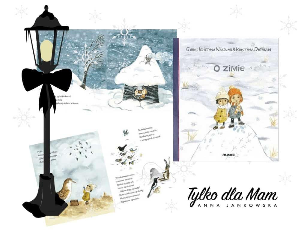 O zimie ksiązki dla dzieci