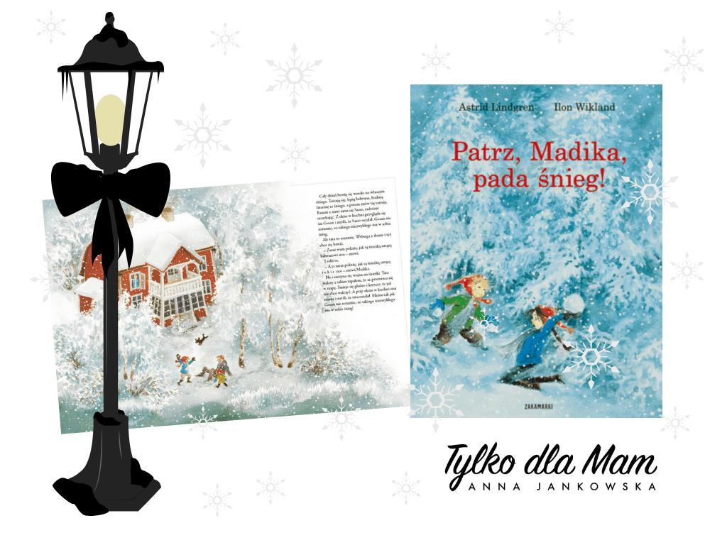 Patrz, Madika, Pada śnieg książki dla 5 latka