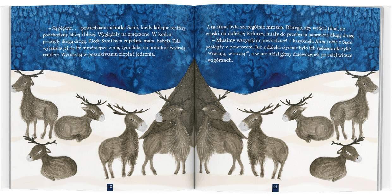 Hoho wraca dodomu ksiązki dla dzieci renifer zima