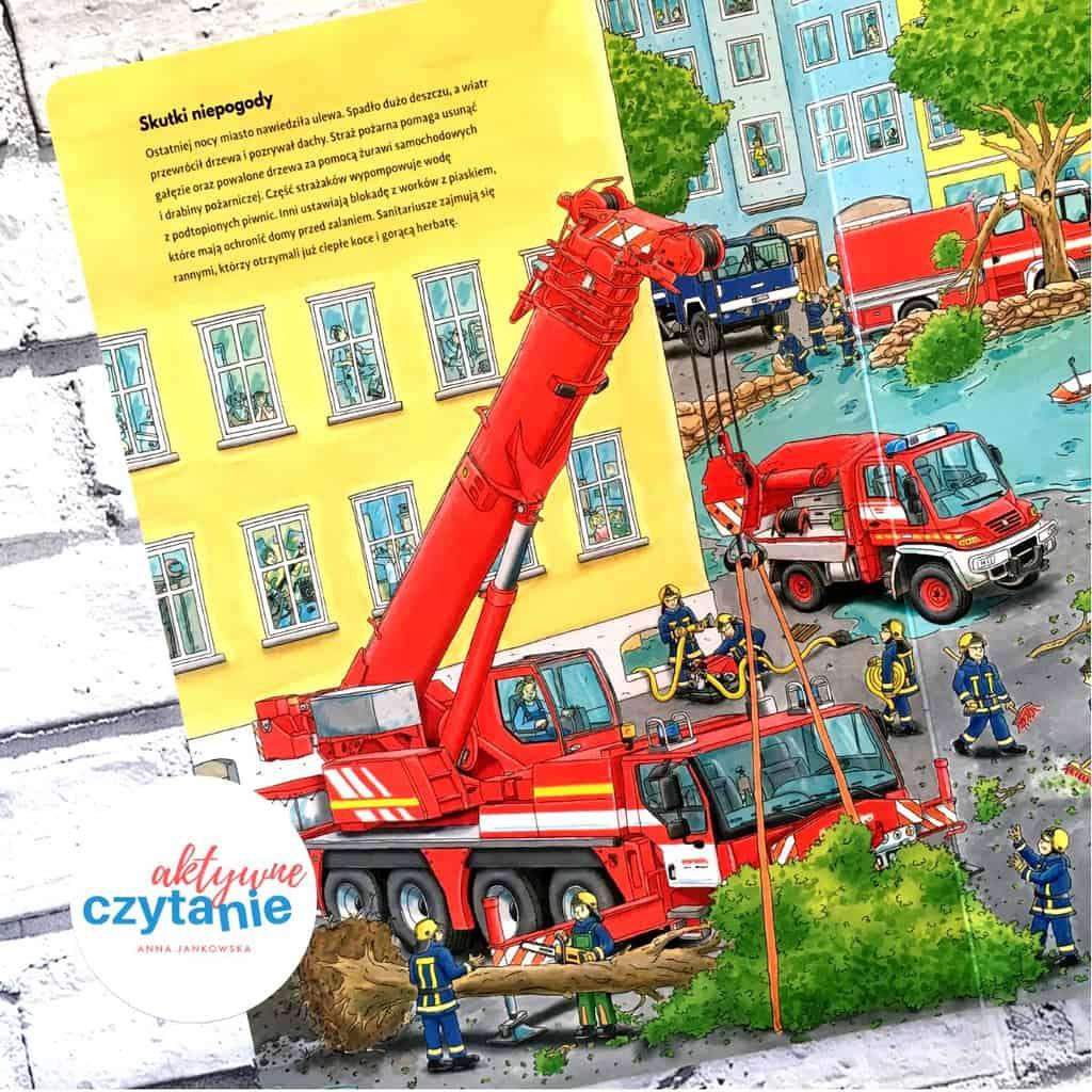 Wielka księga pojazdów Dźwig, traktor, koparka picture book