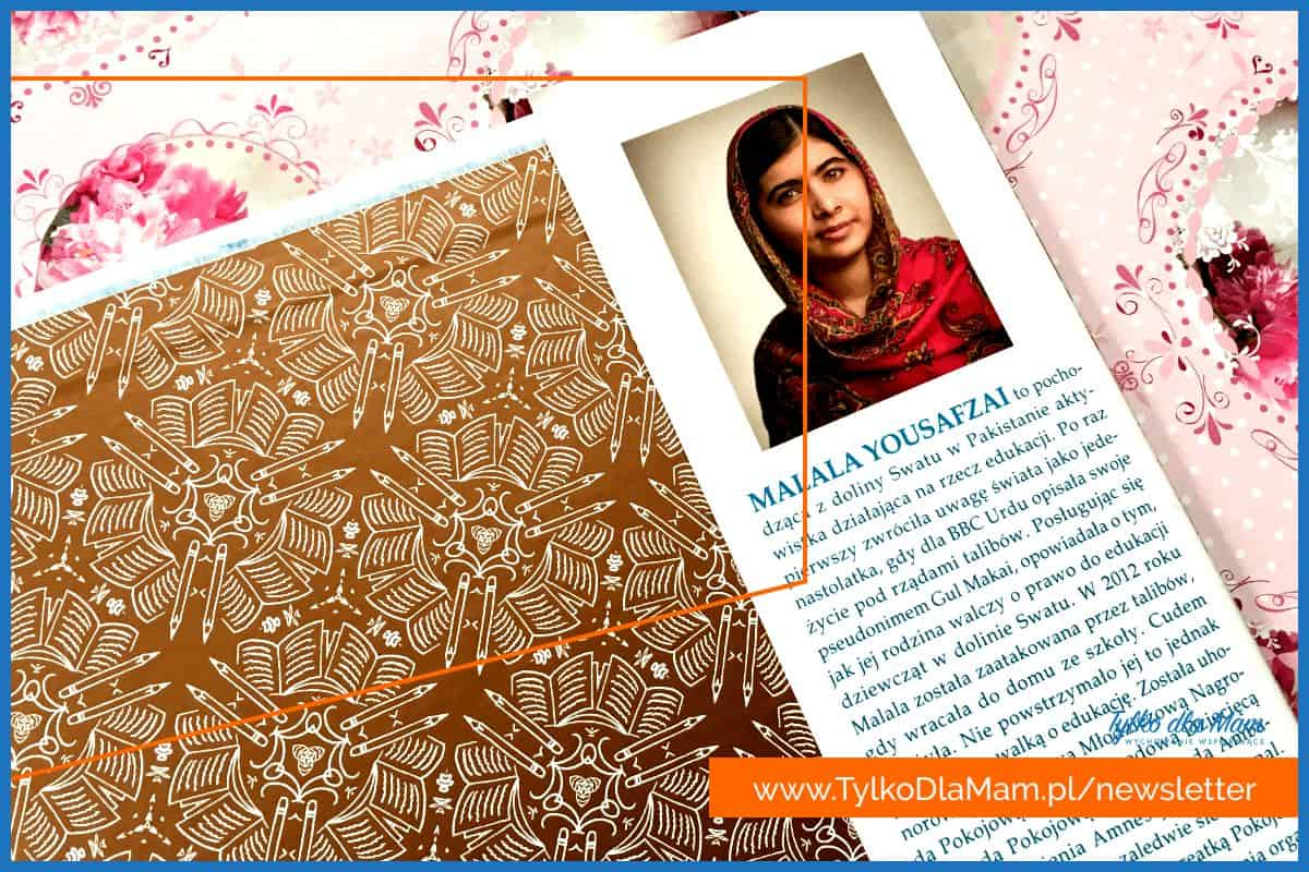 Malala Yousafzai book picture zdjęcie