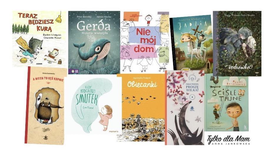 Książki dla dzieci oemocjach smutek, depresja, żal
