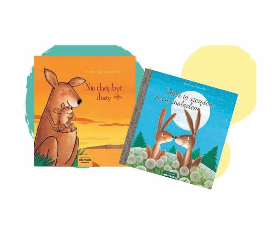 Nie chce być duży kangur zając ksiązki dla dzieci