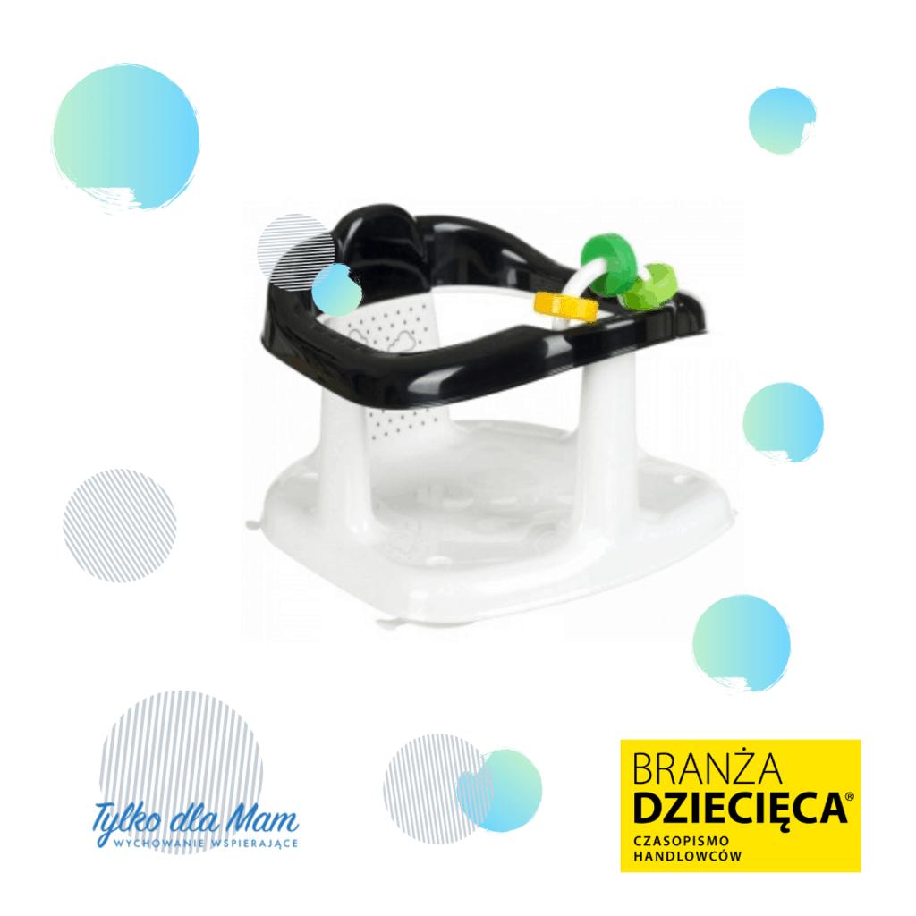 Krzesełko dokąpieli zzabawką – Panda – odMaltex higiena