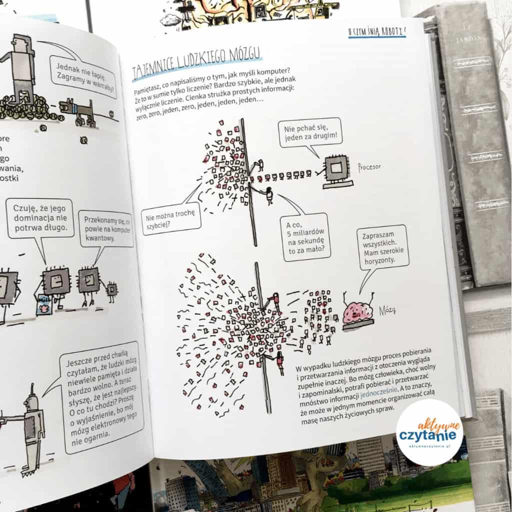 Sztuczna inteligencja tooczym dorośli ksiązki dla dzieci aktywne czytanie 7