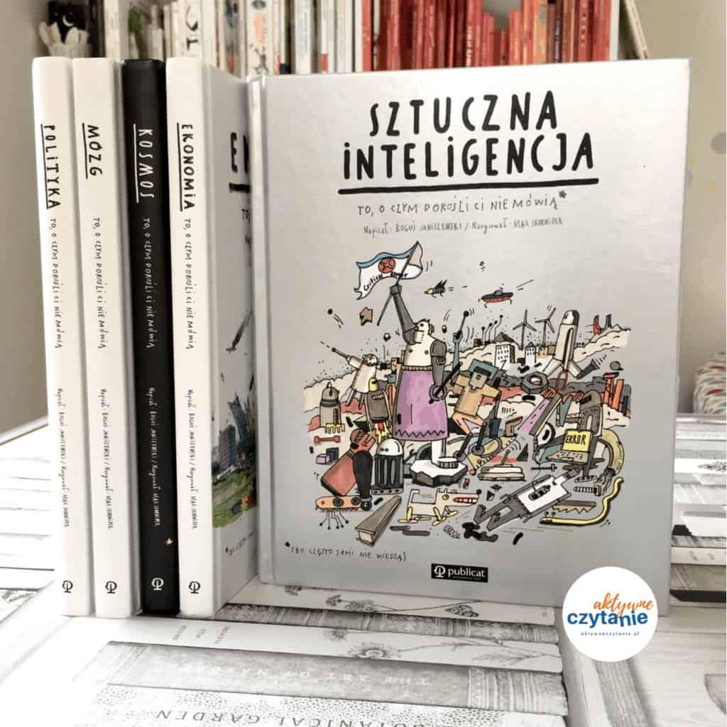Sztuczna inteligencja tooczym dorośli ksiązki dla dzieci aktywne czytanie