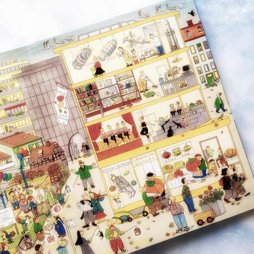 Rok naulicy czereśniowej ksiązki dla dzieci