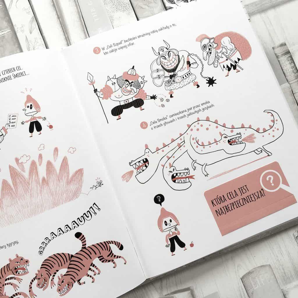 Zagadki detektywistyczne ksiązki dla dzieci aktywne czytanie 4