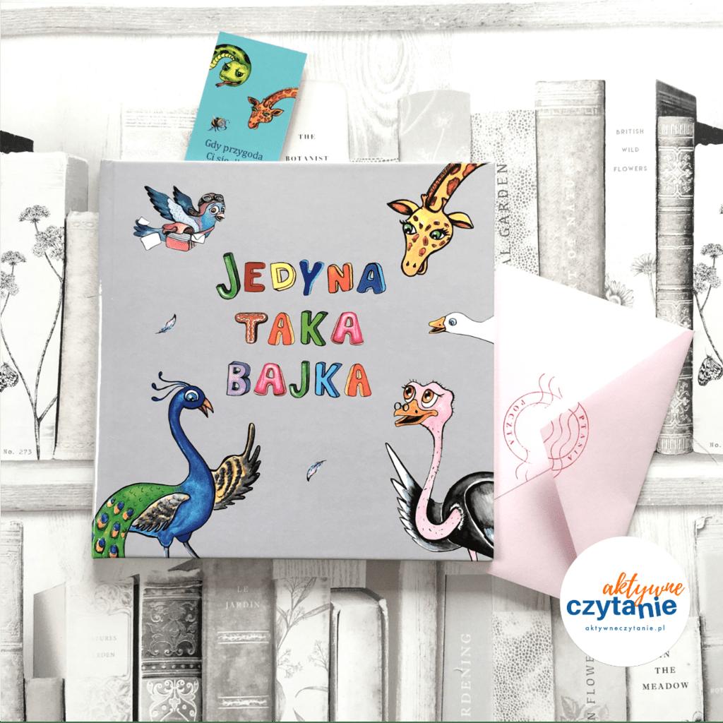 Jedyna taka bajka ksiązki dla dzieci aktywne czytanie