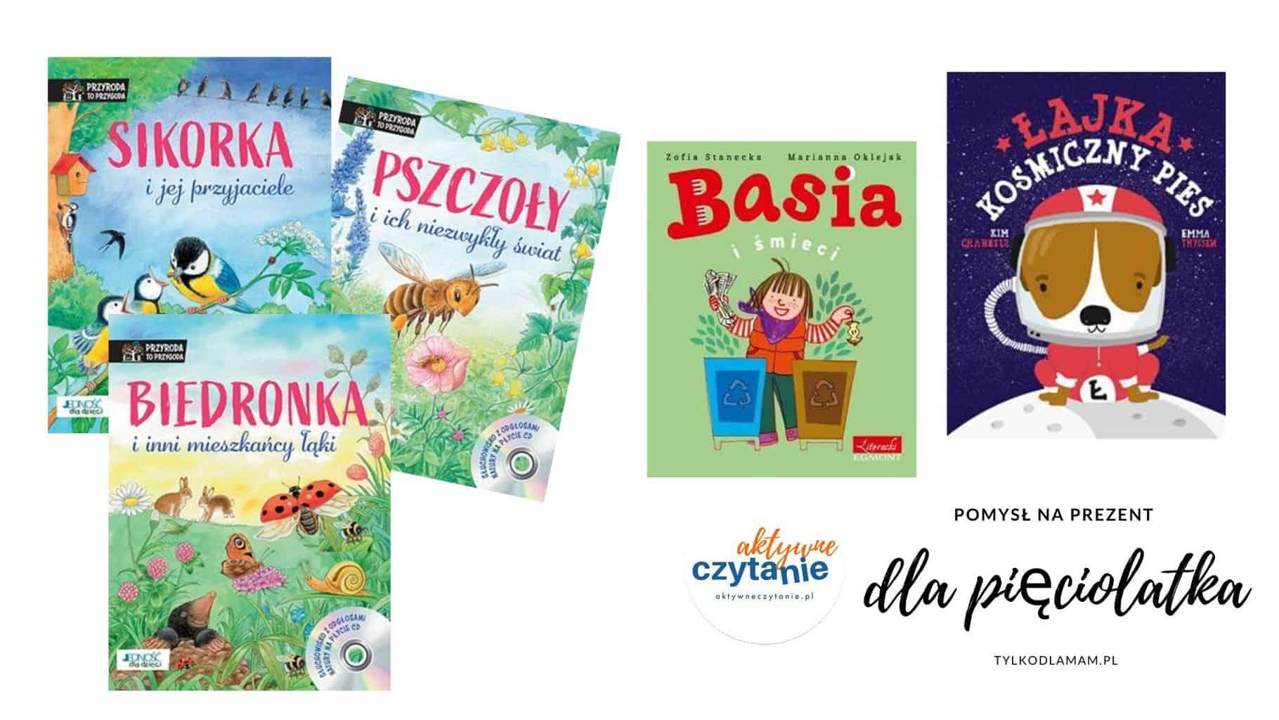 książki dla pięciolatka katywne czytanie ksiązki dla dzieci