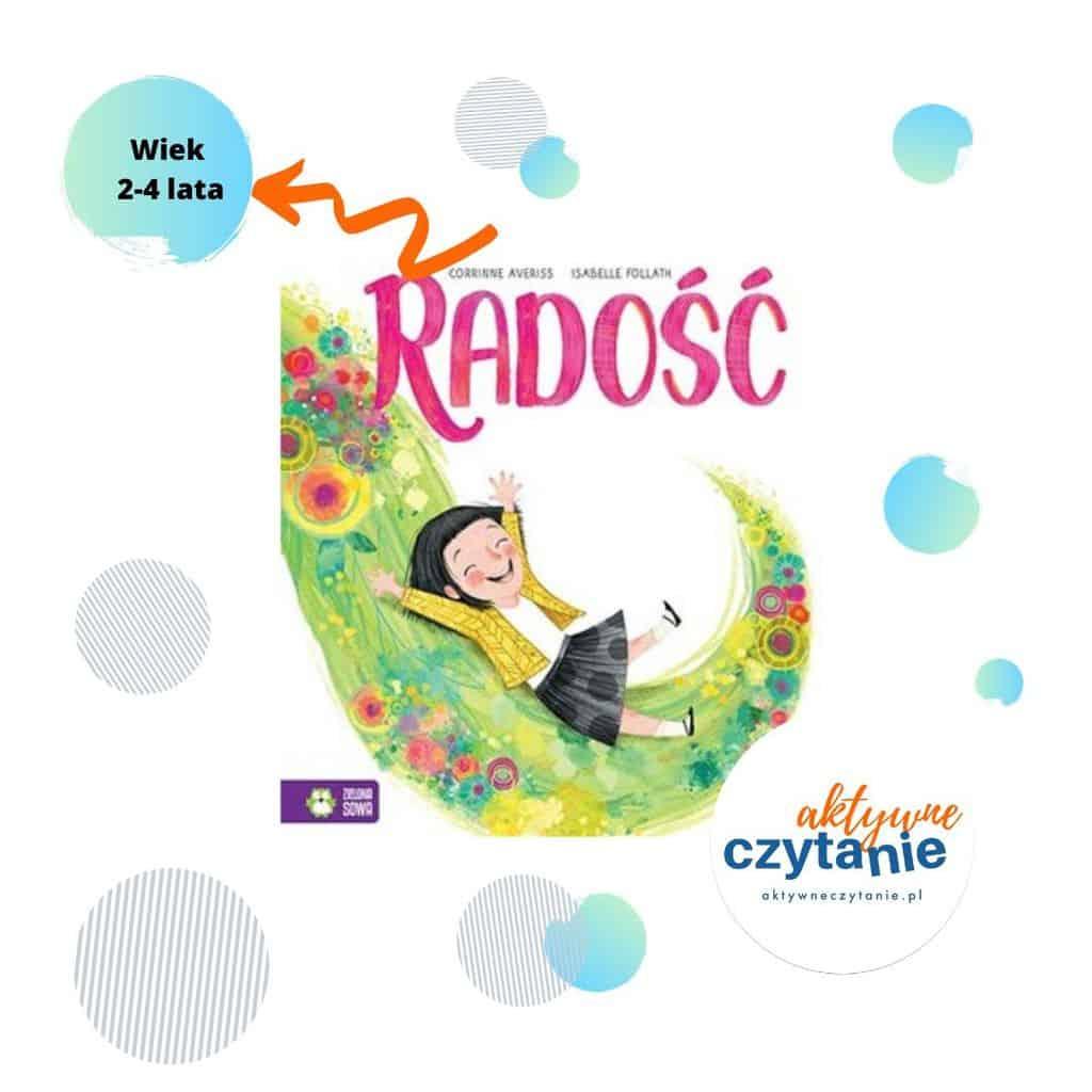 Ksiązki dla dzieci radość recenzja aktywne czytanie zielona sowa