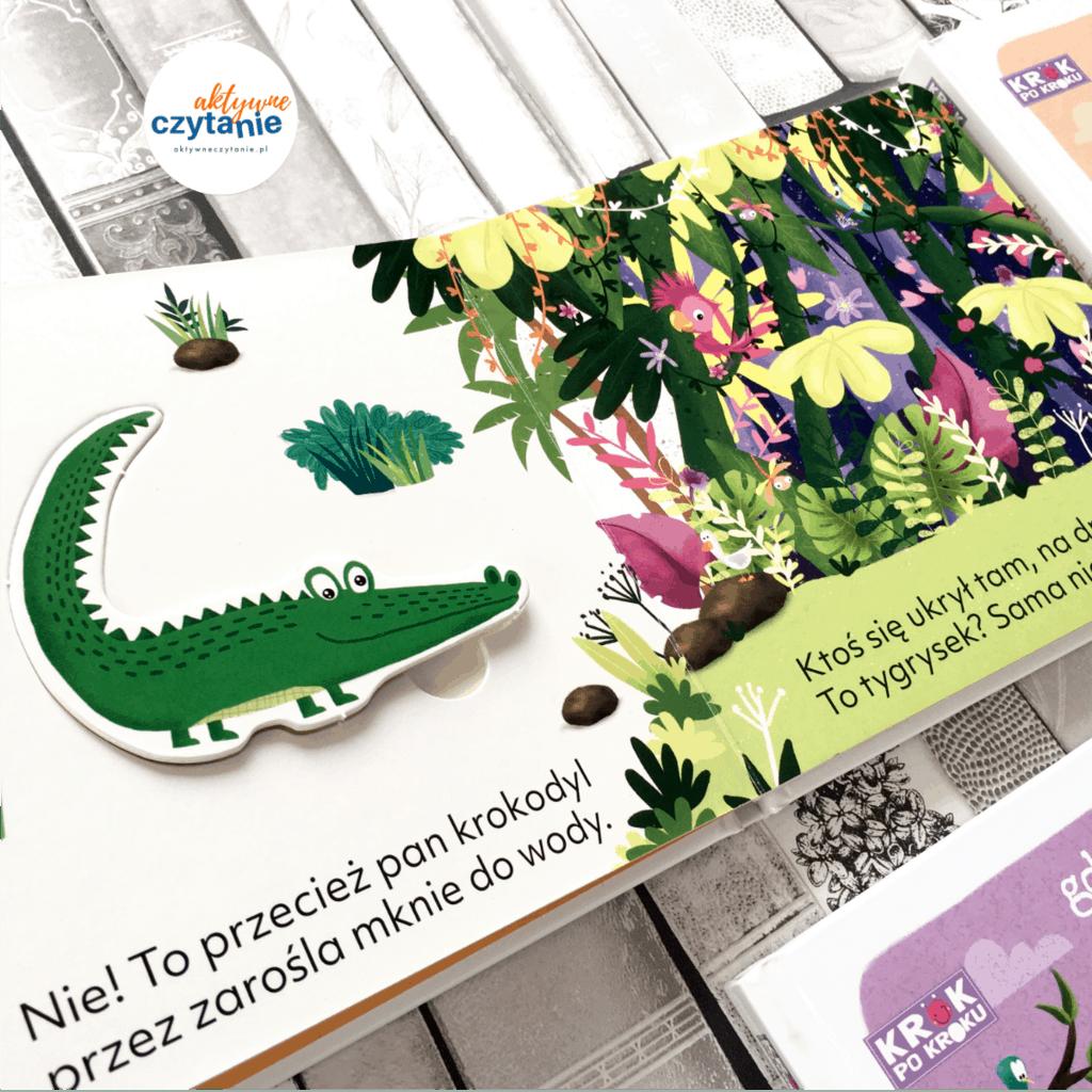 ksiązki dla dzieci zpuzzlami gdzie jest tygrysek aktywne czytanie 1