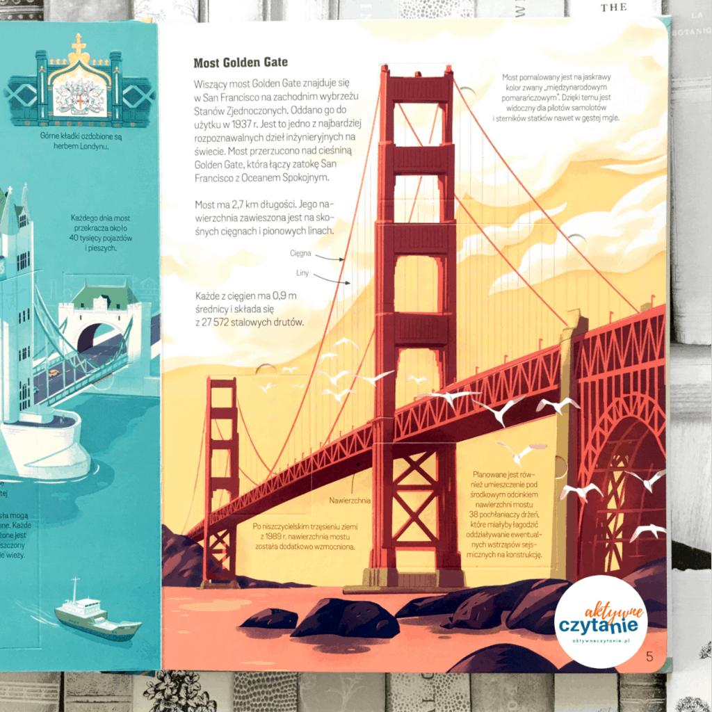 Ksiązki zokienkami mosty wieżowce tunele aktywne czytanie 4