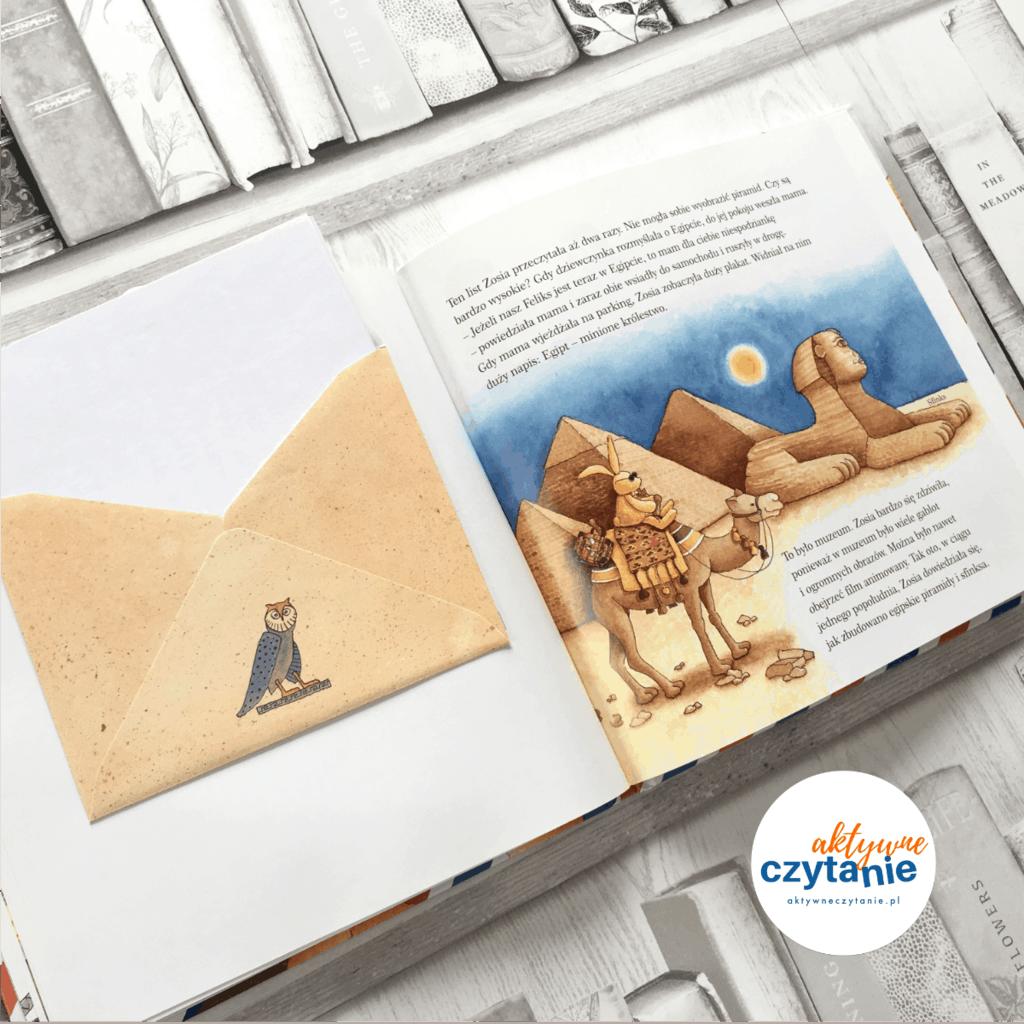 Listy odfeliksa ksiązki dla dzieci aktywne czytanie