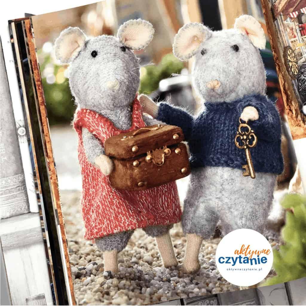 Mysi domek Sam iJulia ksiązki dla dzieci aktywne czytanie tylkodla mam 1