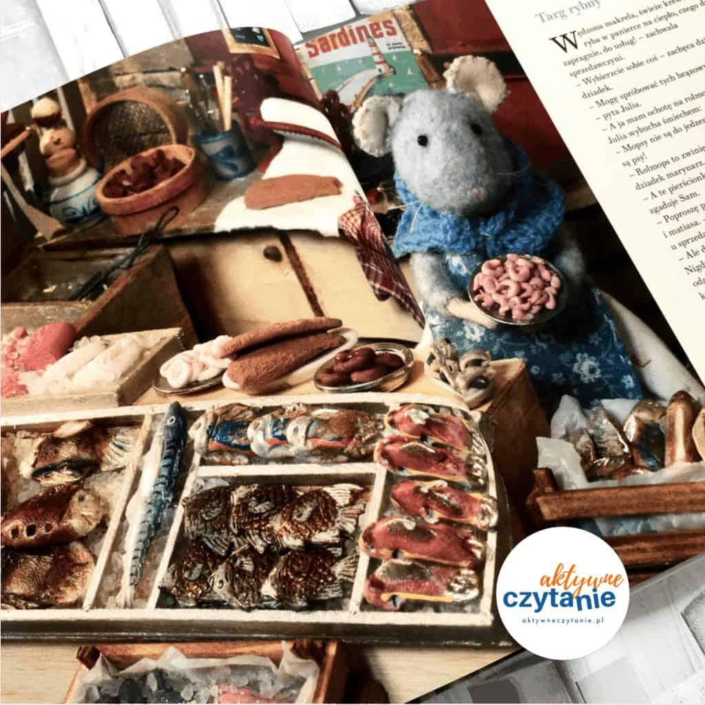 Mysi domek. Sam iJulia wporcie książki dla dzieci aktywne czytanie 7