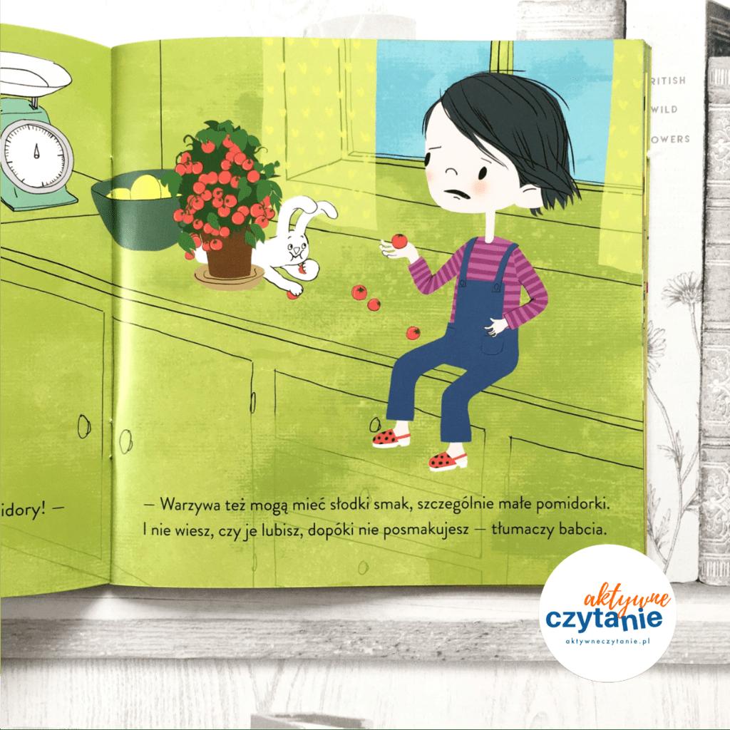 Pola mówi ble książki dla dzieci aktywne czytanie