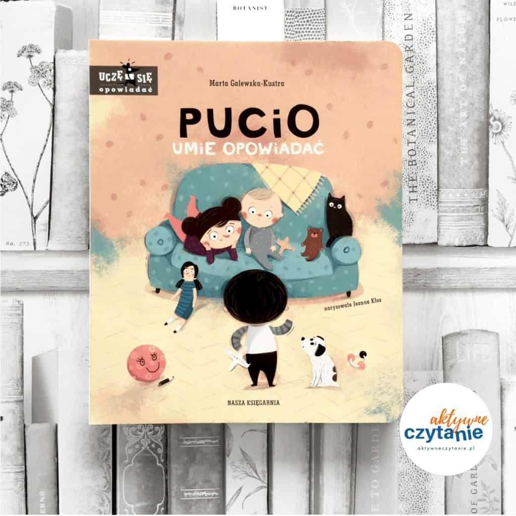 Pucio książki dla dzieci aktywne czytanie