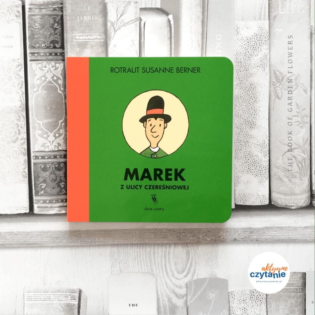Marek Rok naulicy czereśniowej ksiązki dla dzieci aktywne czytanie Marek