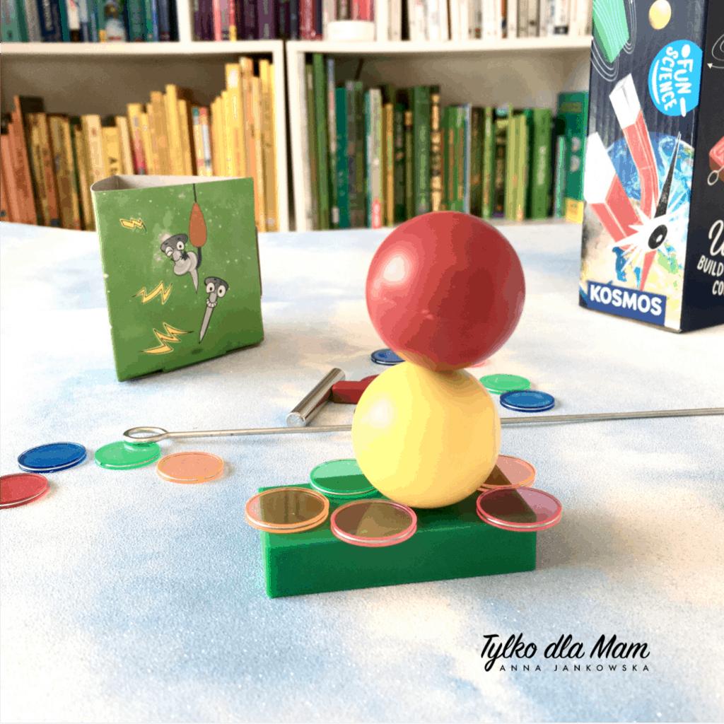 Zestaw Fun Science - Świat Magnesów zestaw edukacyjny blog Tylkodla mam zabawki dla dzieci uczniów