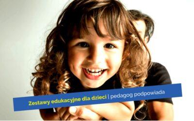 Zestawy edukacyjne dla dzieci donauki izabawy