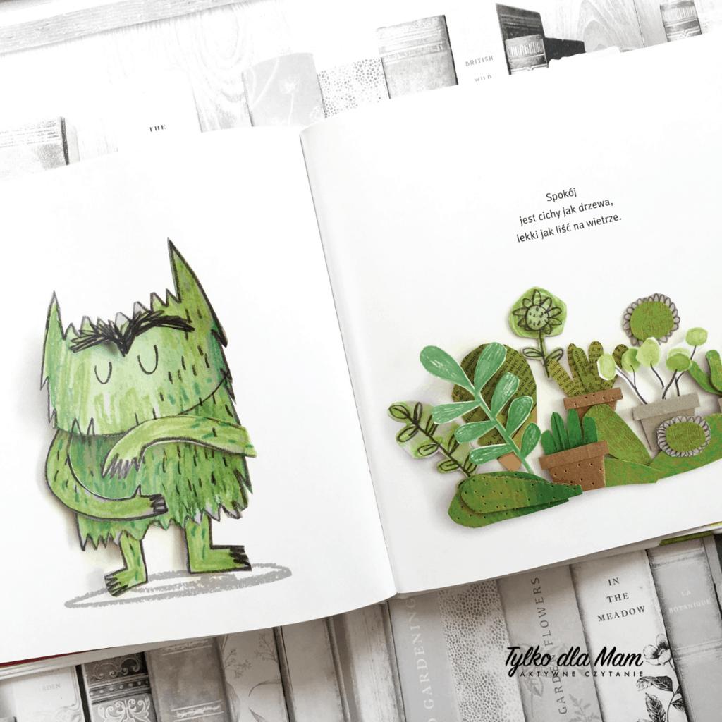 Kolorowy potwór recenzja książki dla dzieci