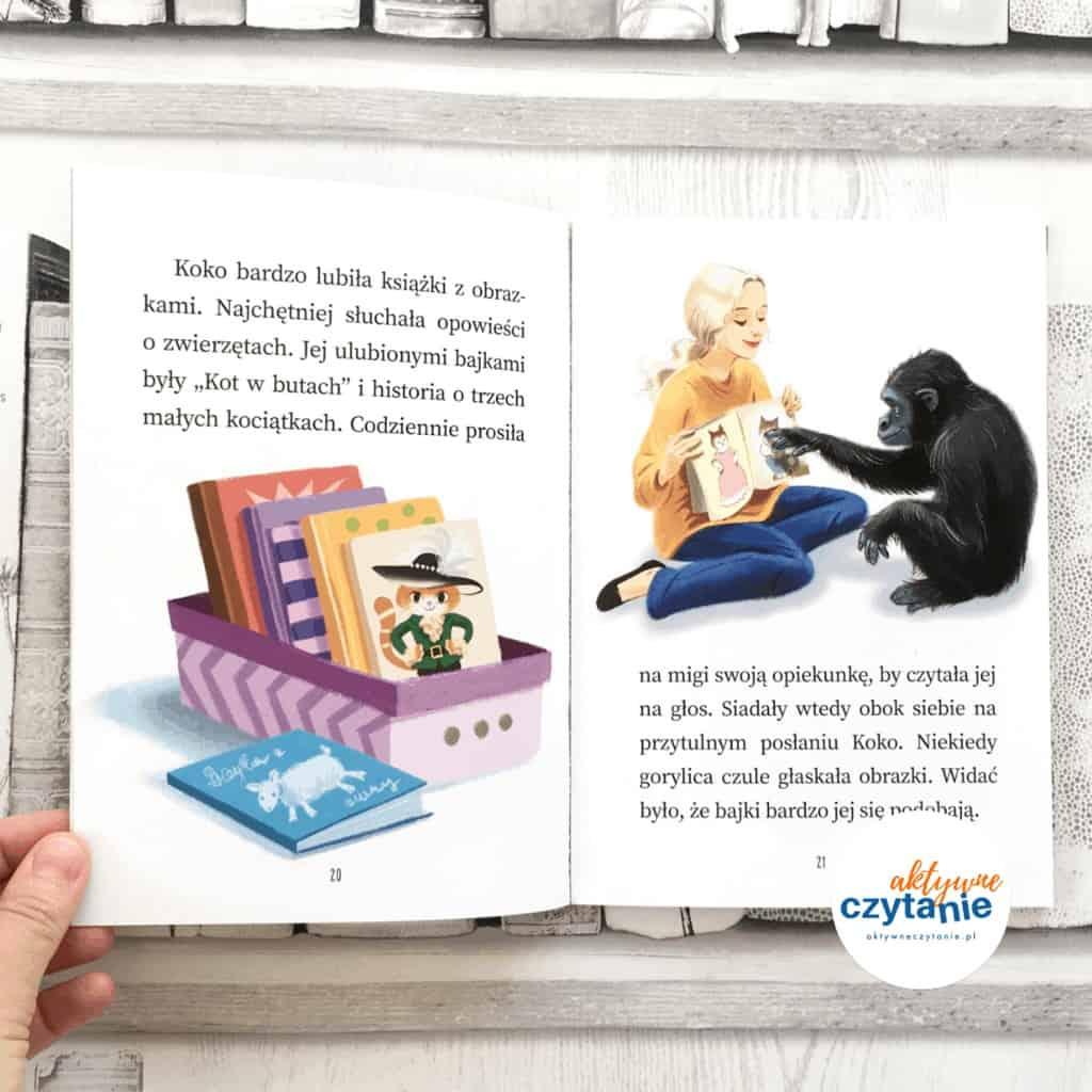 ksiazki-dladzieci-aktywne-czytanie-koko-uczy-sie-migac-ksiazkozercy