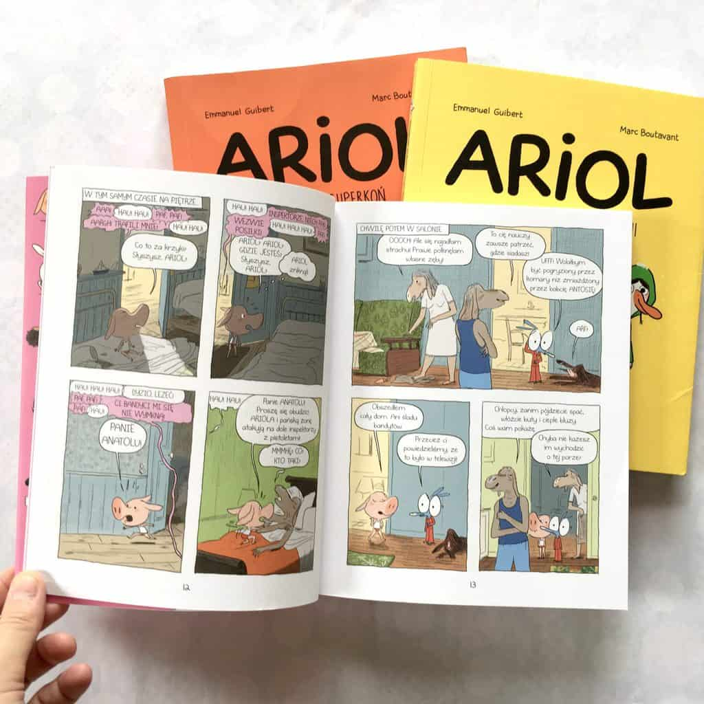 Ariol recenzja komiksy 9-14 lat
