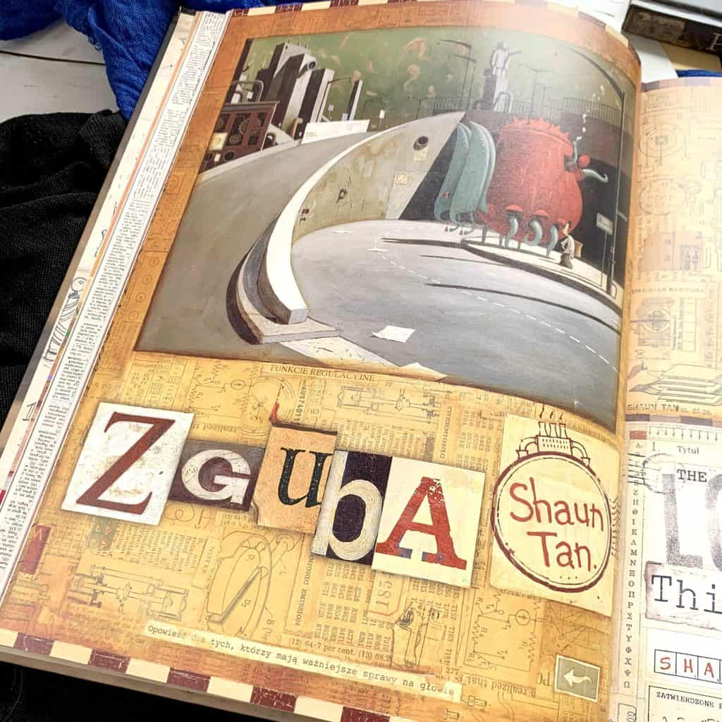 zguba recenzja ksiazki shaun tan zgubione znalezione komiks