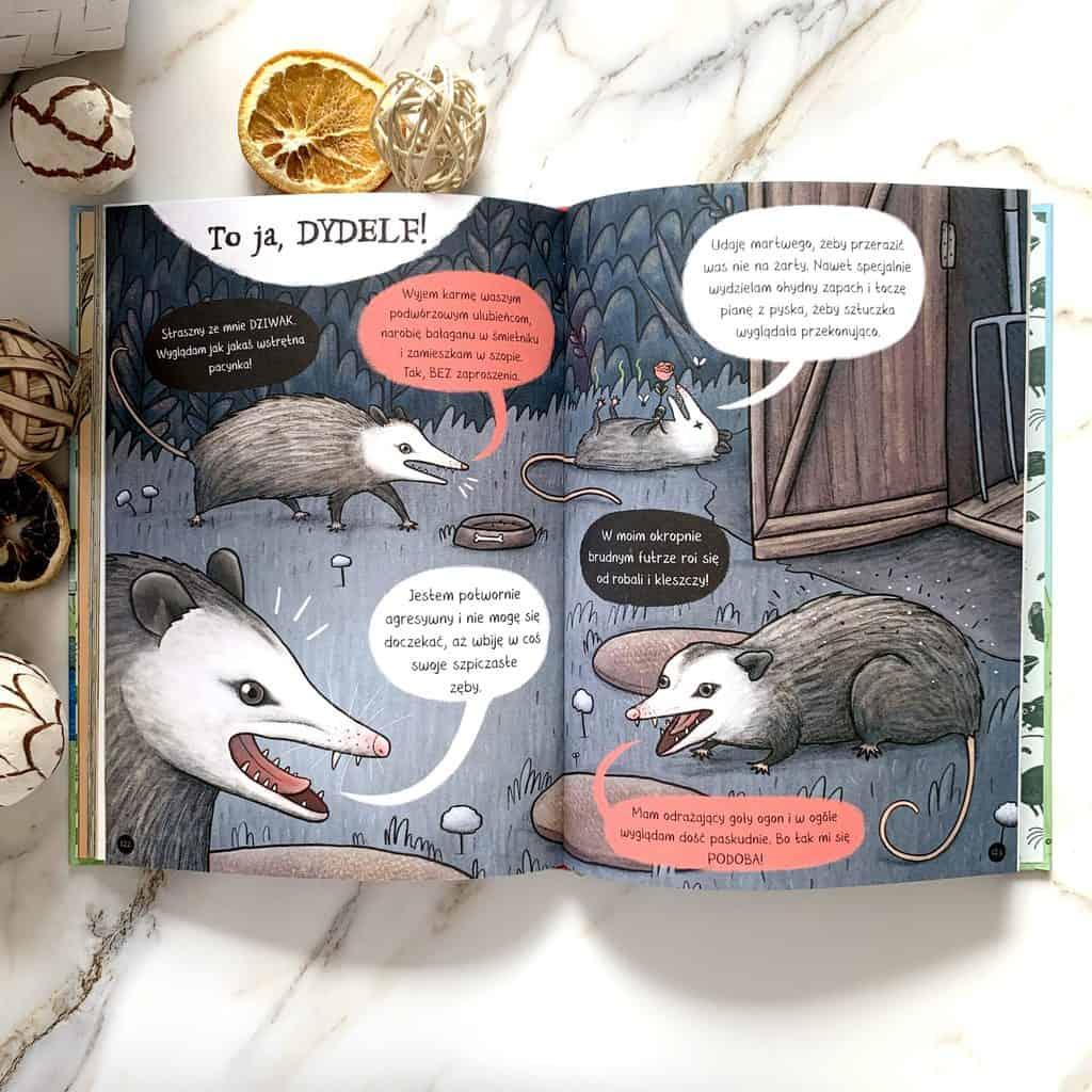 stop plotkom cala prawda ozwierzetach recenzja ksiazki dla dzieci